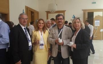 Girne Üniversitesi Denizcilik Fakültesi Dekanı Altunç DEK Toplantısında Konuşma Yaptı