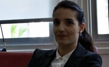 Girne Üniversitesi Kurucu Rektörü Cemre Günsel Haskasap Başbakan Kalyoncu'ya Projelerini Anlattı