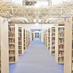 YDÜ büyük kütüphane