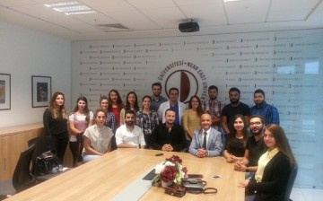 Yakın Doğu Üniversitesi Tıp Öğrencileri, Dünya Tıp Öğrencileri Birliğine Üye Olma Çalışmalarını Başlattı