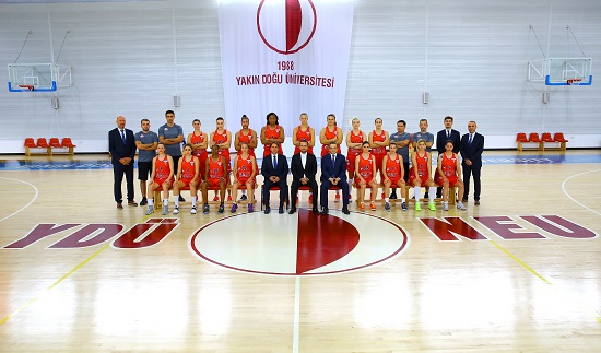 Near East Angels versus the last season champion Galatasaray
