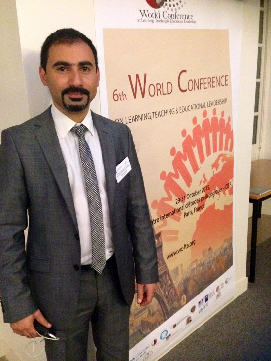 Irfan Günsel Research Centre represented in International Education Congress in Paris