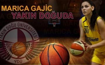 Bosna-Hersek Milli Takımı Uzun Forveti Marica Gajic Yakın Doğu Üniversitesi'nde (4)