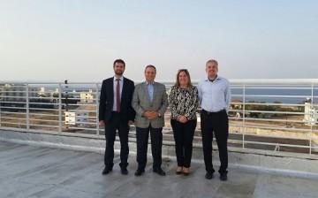 Kadir Has Üniversitesi Rektörü Prof. Dr. Mustafa Aydın'dan  Girne Üniversitesi Kampüsü'ne Ziyaret
