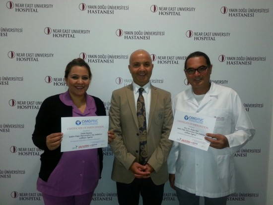 Near East University Faculty of Medicine Attended One Million Global Catheter Prevalence Research