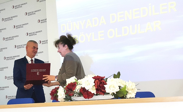 Karaokçu, Head of Fight against Drugs Commission of Prime Ministry, gave a conference at NEU Faculty of Medicine