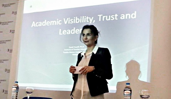 "A Seminar titled as ""Trustworthiness and Leadership in Academy"" was given at Near East University"