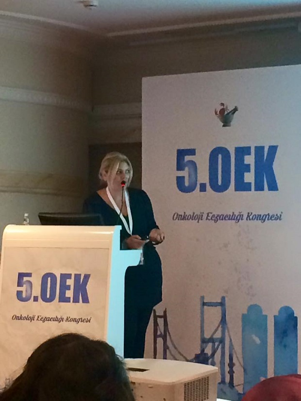 Assoc. Prof. Dr. Bilgen Başgut, lecturer at Near East University Faculty of Pharmacy, was granted with Oncology Pharmacists Association Award