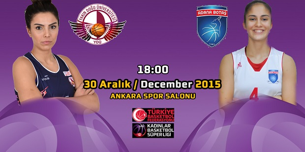Near East University Women's Basketball Team is hosting BOTAŞ