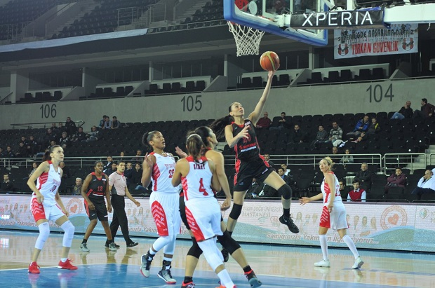 Near East University Women's Basketball Team coach and captain evaluated AGÜ Kayseri match