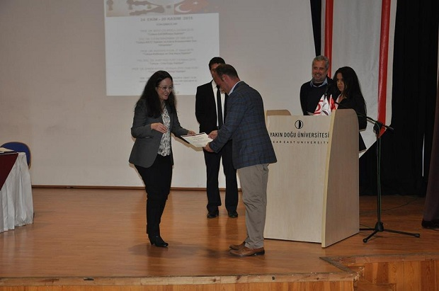 "Near East Institute ""New Agendas and Approaches in Turkish Foreign Policies"" Educational Programme participation certificates were given"