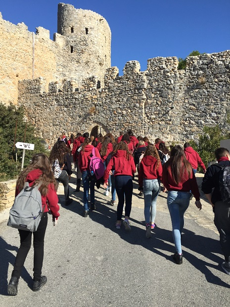 Near East College students learn history of Cyprus on site