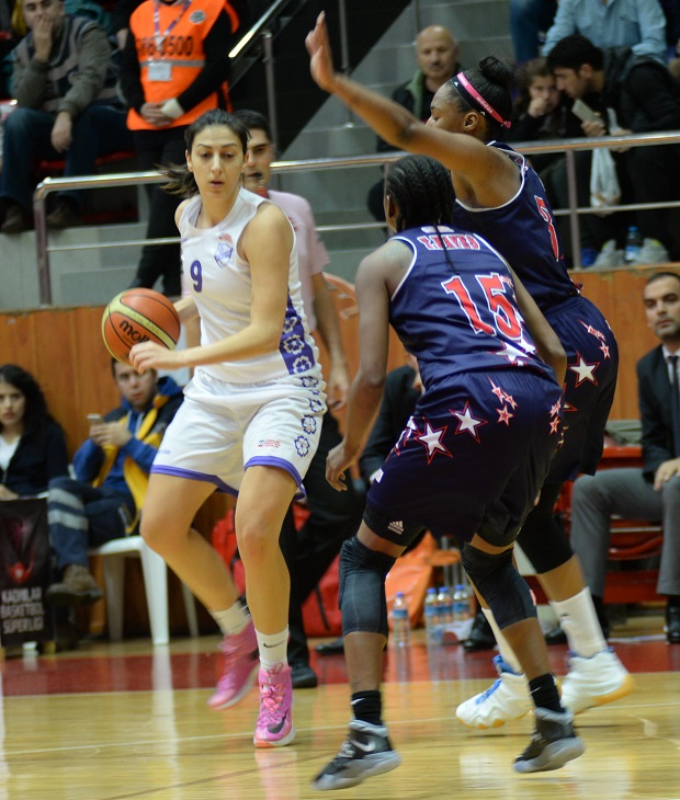 Near East University Women's Basketball Team is hosting Orduspor