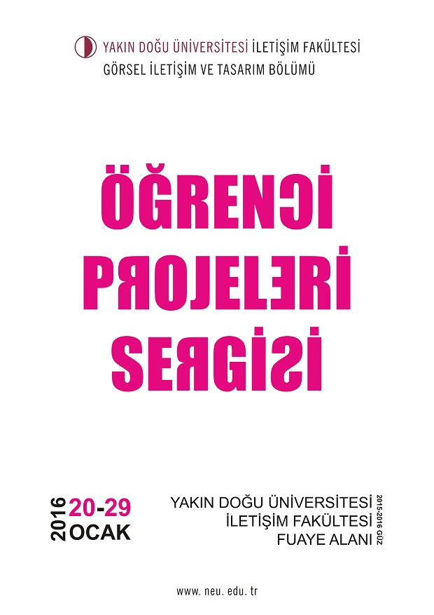 Organized by the Department of Visual Communication and Design of NEU Faculty of Communication, Student Projects Exhibition begins on the 20th of January