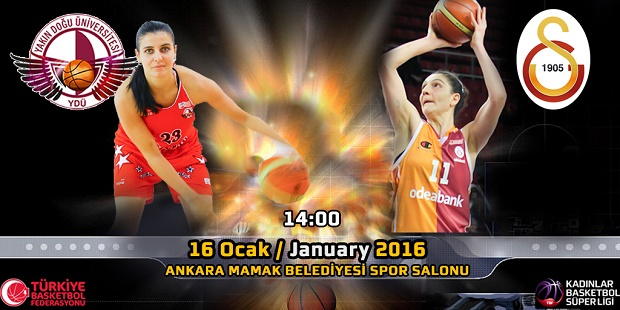 Near East University Women's Basketball Team is hosting Galatasaray