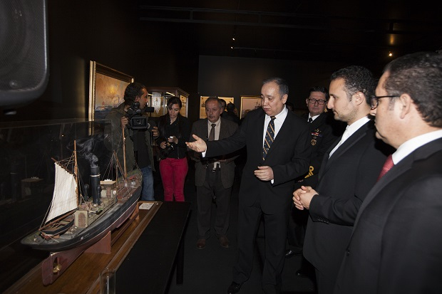 Unknown Aspects of Çanakkale (Dardanelles) Naval Wars Exhibition, which was held in Istanbul by Near East University and visited by 216.116 persons, ended