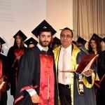 Yakın Doğu Üniversitesi İletişim Fakültesi Güz Mezunlarını Verdi (5)