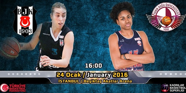 Near East University Women's Basketball Team to play an away match versus Beşiktas