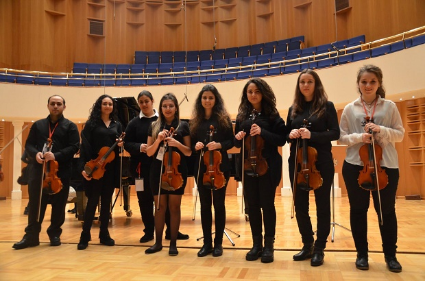 Near East University Department of Music Teaching participated in the Bilkent University Violin Days