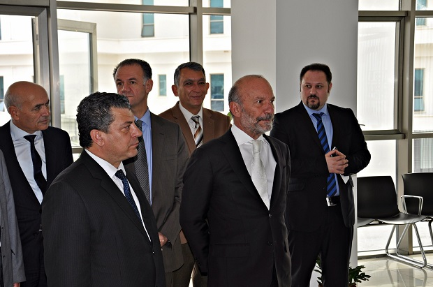 Minister of National Education Kemal Dürüst visited the Near East University Animal Hospital