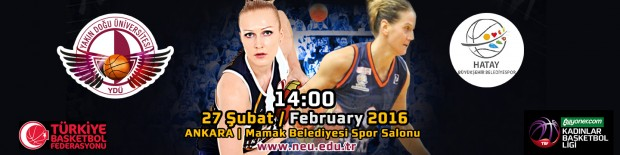 NEU Angels to host Hatay BŞB