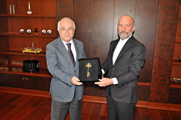 Near East commendation order presented to great statesman Cemil Çiçek