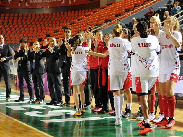 Near East University Women's Basketball Team is taking the court for an away game versus BOTAŞ