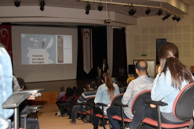 "Students of Near East University attended the ""2030 Seminars with ""JetGenç"""
