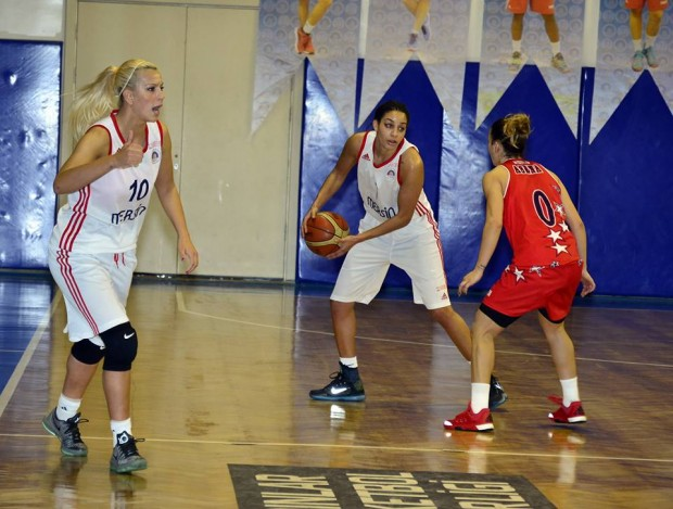Near East University Women's Basketball Team is competing against Mersin Büyükşehir Belediyesi