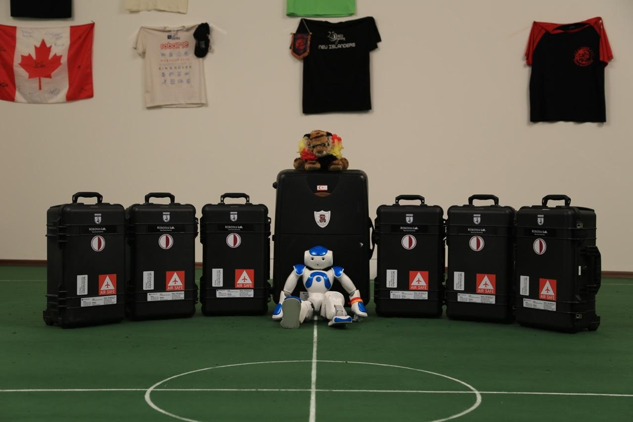 The Robotic Soccer Team of the Near East University (NEUIslanders) has gone to the Netherlands for RoboCup European Tournament 2016