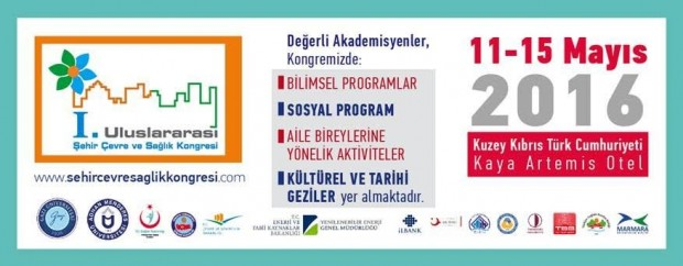 The City, Environment and Health Conference to be held in Northern Cyprus with Participation of Near East University