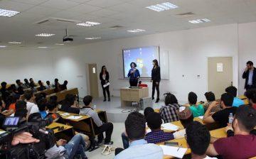 Yakın Doğu Üniversitesi Mühendislik Fakültesi Kariyer Günleri Avrupa Birliği Bilgi Merkezi İşbirliği ile Yapıldı
