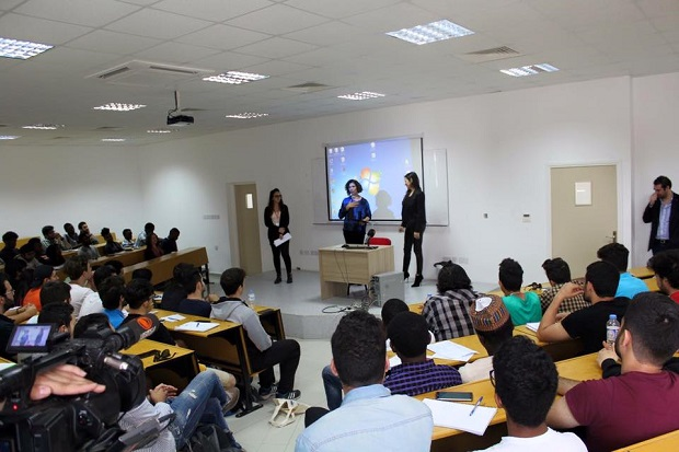 Near East University Faculty of Engineering Career Days held in cooperation with EU Information Center
