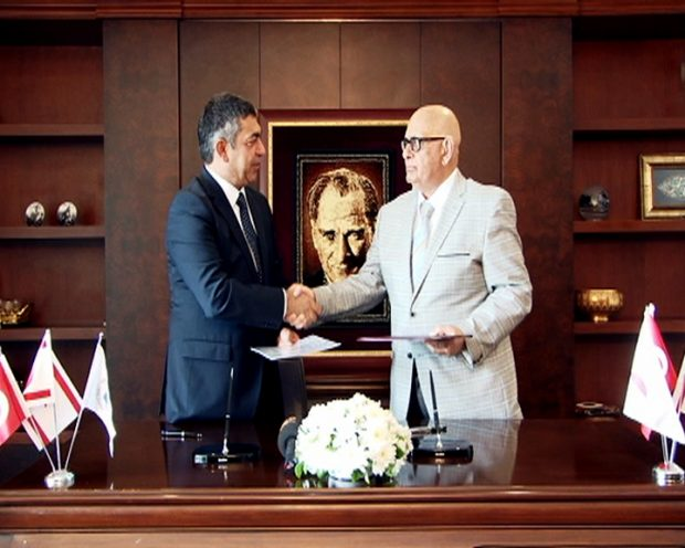 Academic Cooperation Protocol Signed Between Near East University and the European University of Lefke