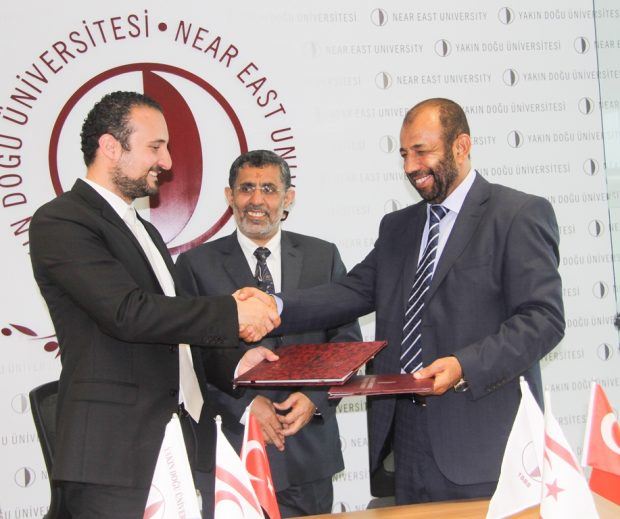 Academic Cooperation Protocol signed between Near East University and Yemen's University of Science and Technology