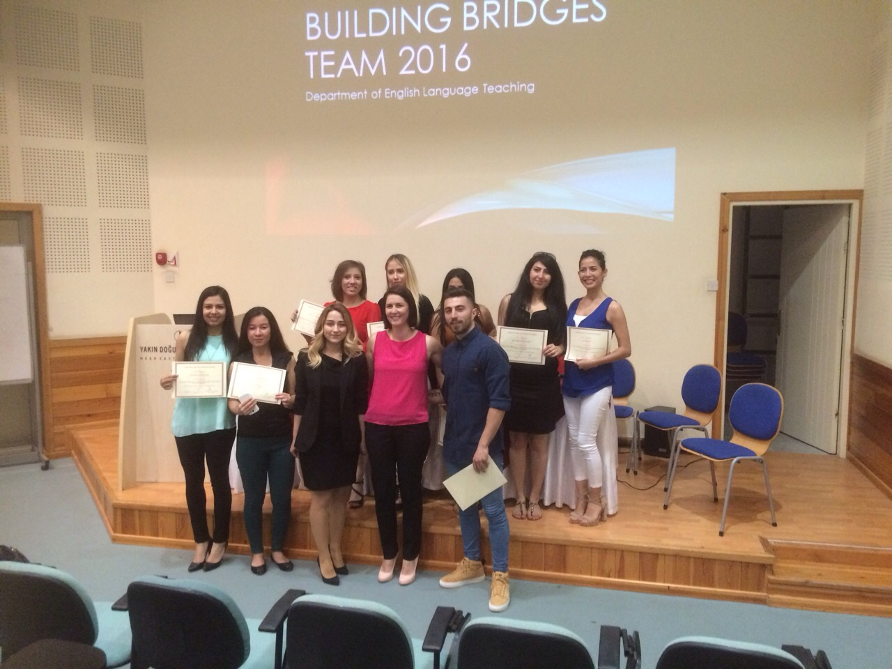 Building Bridges Team shared their experiences with ELT students