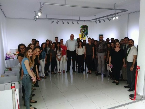 Near East University Atatürk Faculty of Education Department of Preschool Teaching actualized the Waste Material Design Exhibition