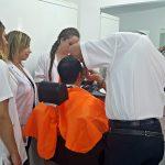 YDÜ Saç Bakımı ve Güzellik Hizmetleri Bölümü'nden Babalar Gününe Özel Etkinlik
