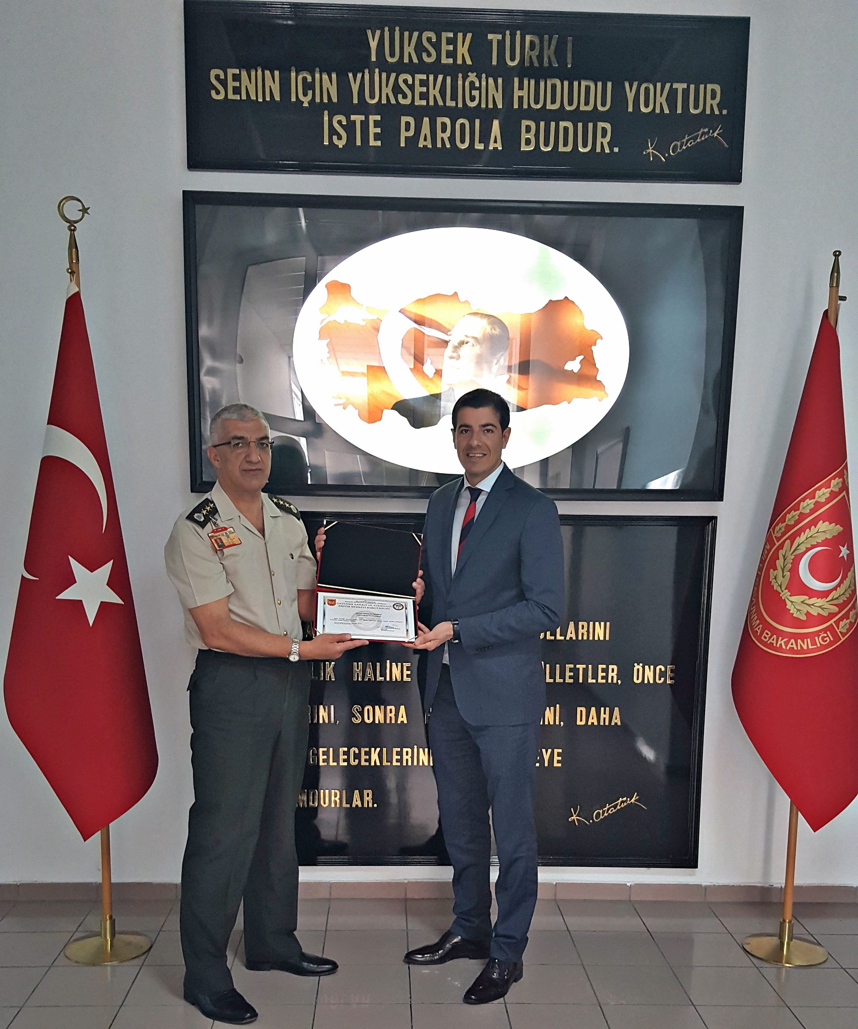 Near East University provides Information Mapping Training to Turkish Armed Forces
