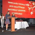 Yakın Doğu İlkokulu 2015-2016 Öğretim Yılı Mezunlarını Verdi
