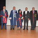 Yakın Doğu Üniversitesi Veteriner Hekimliği Fakültesi Mezunları Meslek Yemini Ederek Diplomalarını Aldılar