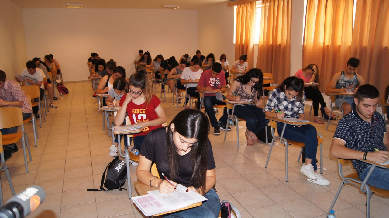 Near East University Student Placement and Scholarship Grading Examination was held