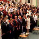 YDÜ Tıp Fakültesi Mezuniyet Töreni Üst Düzey Katılım ile Gerçekleşti