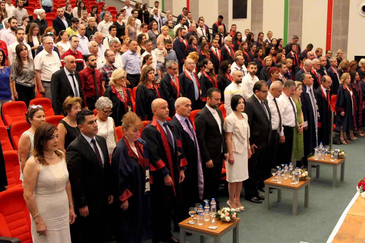 Near East University Faculty of Medicine Graduation Ceremony was realized with high level participation