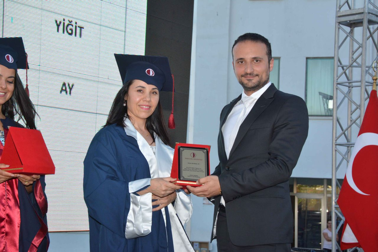 Near East University School of Health Sciences Graduates were given their diplomas……..
