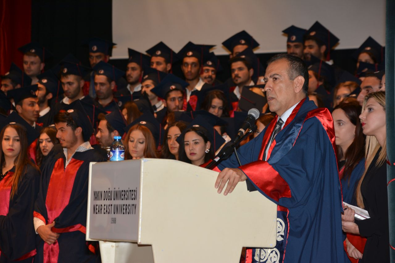 Near East University Faculty of Law graduates received their diplomas