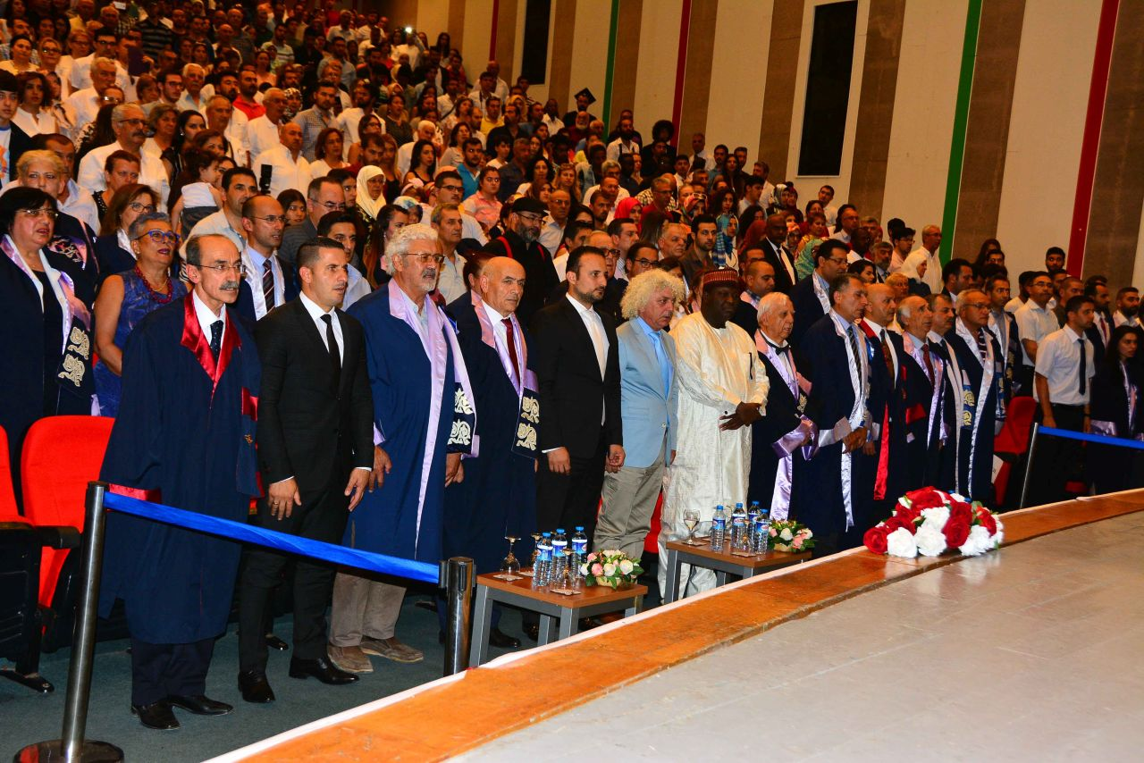 Near East University Faculty of Engineering Graduates were awarded their diplomas