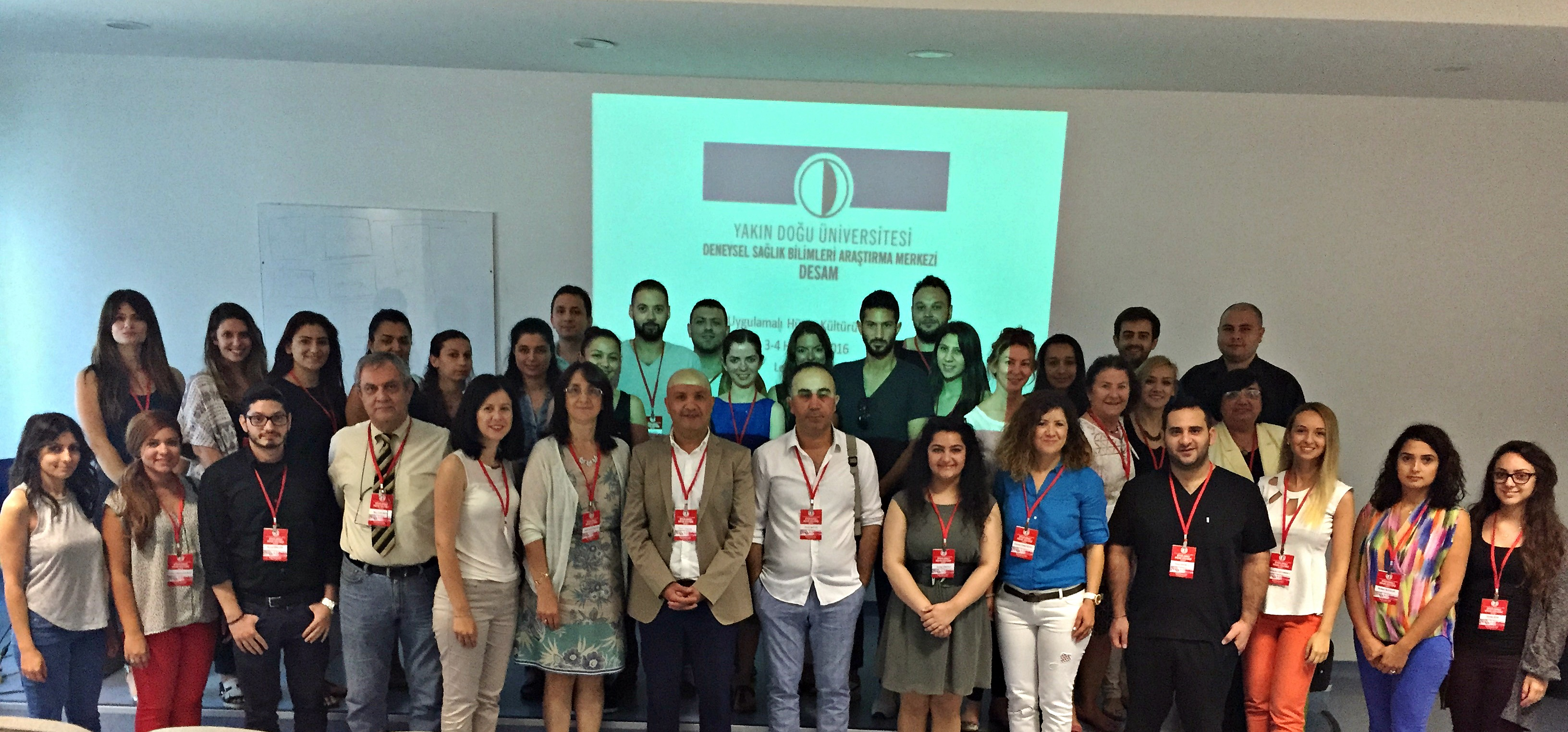 NEU Experimental Health Sciences Research Center (DESAM) held an applied course on cell culture