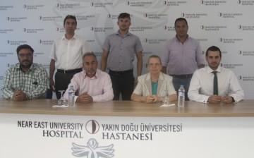 YDÜ Hastanesi ve Kıbrıs Türk Spor Yazarları Derneği Arasında Sağlık Protokolü