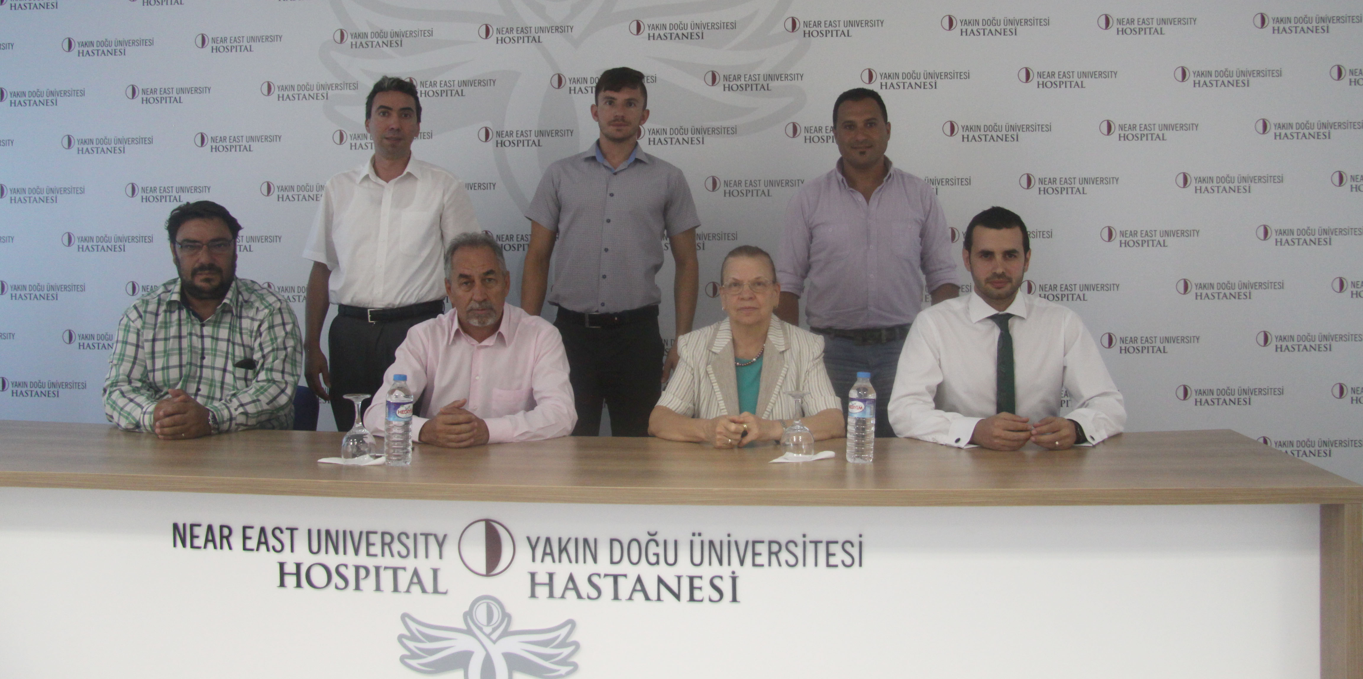 Near East University Hospital and  Cyprus Turkish Sports Writers Association signs Health Protocol